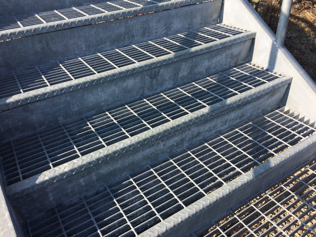 Grating Treads